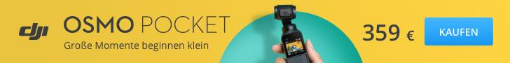 DJI Osmo Pocket jetzt kaufen!
