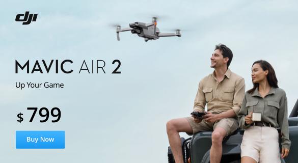 DJI Announces new Mavic Air 2 - Up Your Game