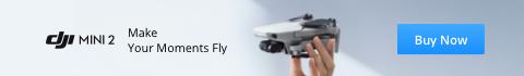 DJI mini 2 drone ad